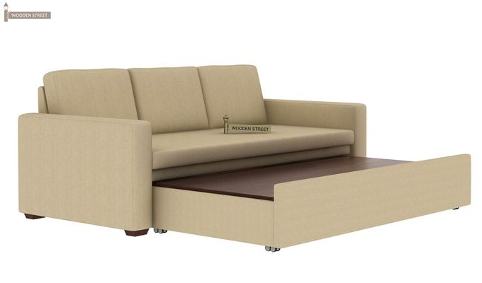 Claridge Fabric Sofa Cum Bed (Ivory)-8