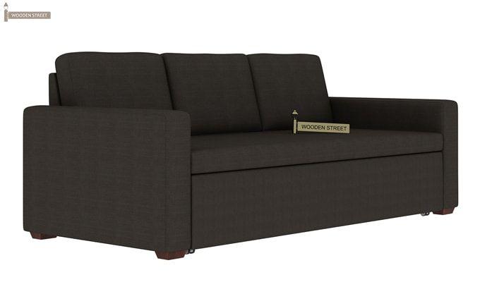 Claridge Fabric Sofa Cum Bed (Steel Grey)-2