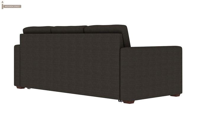 Claridge Fabric Sofa Cum Bed (Steel Grey)-3