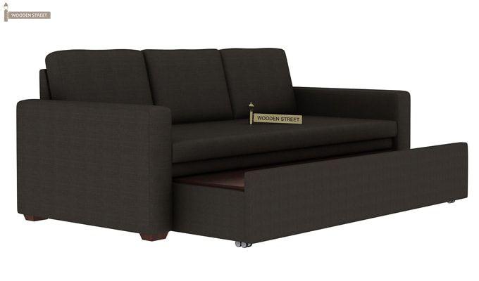 Claridge Fabric Sofa Cum Bed (Steel Grey)-4