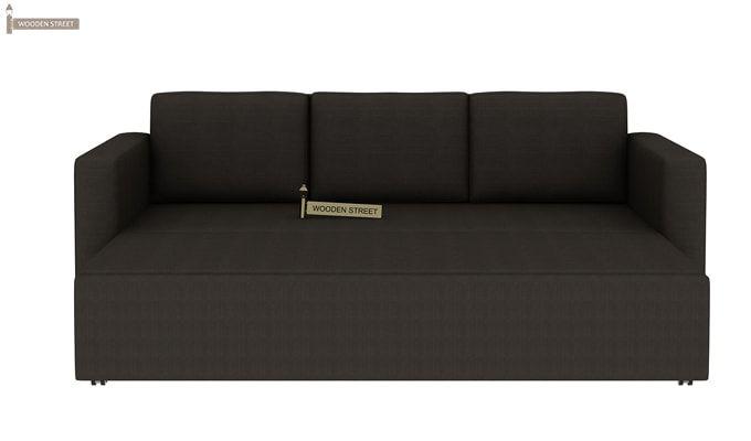 Claridge Fabric Sofa Cum Bed (Steel Grey)-8