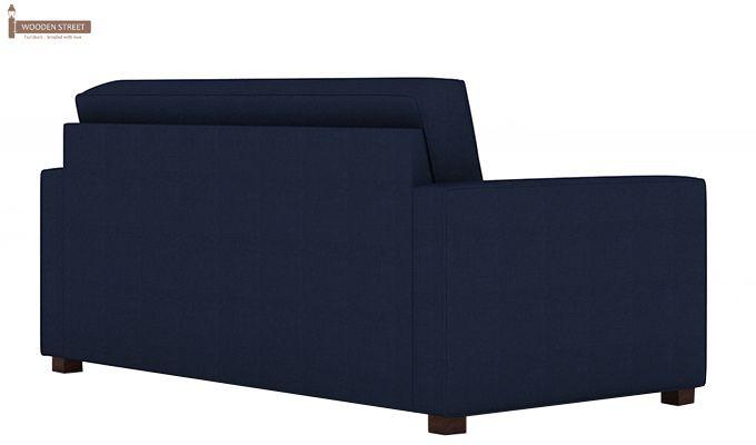 Trish Fabric Sofa Cum Bed (Indigo Ink)-5