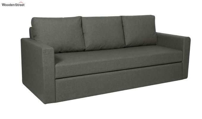 Rexford Fabric Sofa Cum Bed (Steel Grey)-1