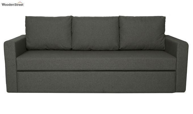 Rexford Fabric Sofa Cum Bed (Steel Grey)-2
