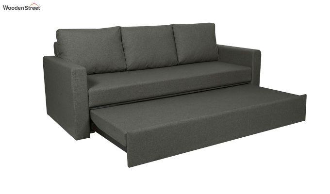 Rexford Fabric Sofa Cum Bed (Steel Grey)-3