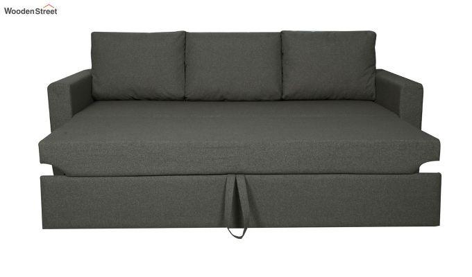 Rexford Fabric Sofa Cum Bed (Steel Grey)-4