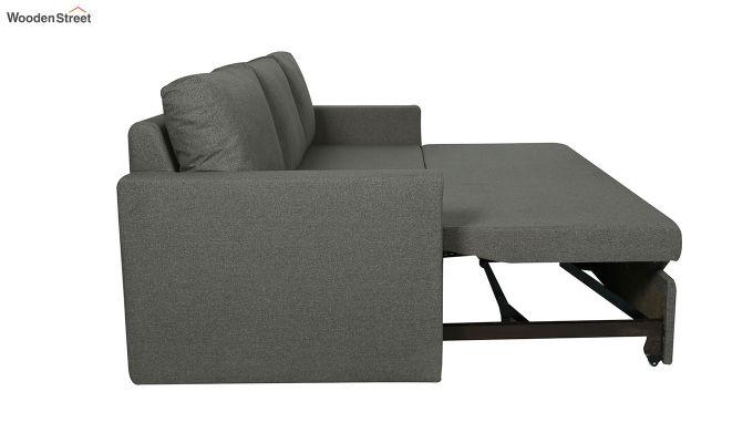 Rexford Fabric Sofa Cum Bed (Steel Grey)-5