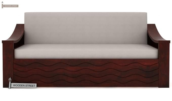Thar Sofa Cum Bed (Queen Size, Mahogany Finish)-2