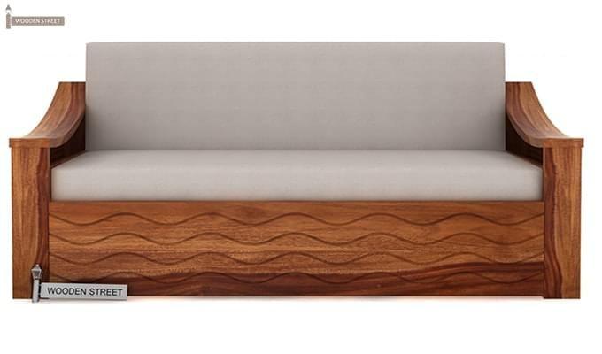 Thar Sofa Cum Bed (King Size, Teak Finish)-2