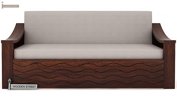 Thar Sofa Cum Bed (King Size, Walnut Finish)-3