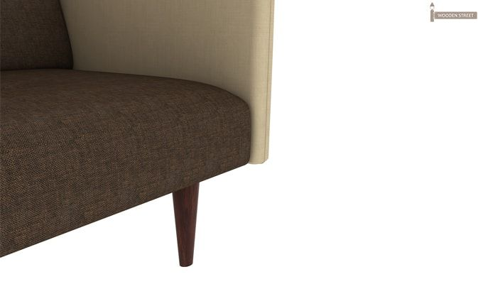 Tyler Fabric Sofa Cum Bed (Brown)-6