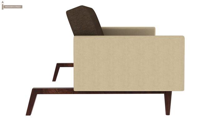 Tyler Fabric Sofa Cum Bed (Brown)-5
