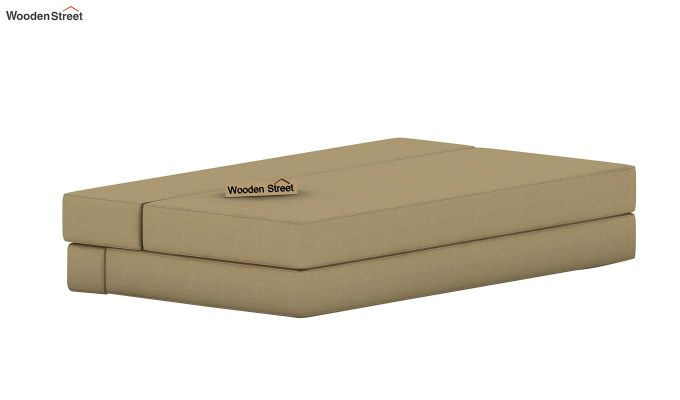 Voltz Fabric Sofa Cum Bed (Irish Cream)-6