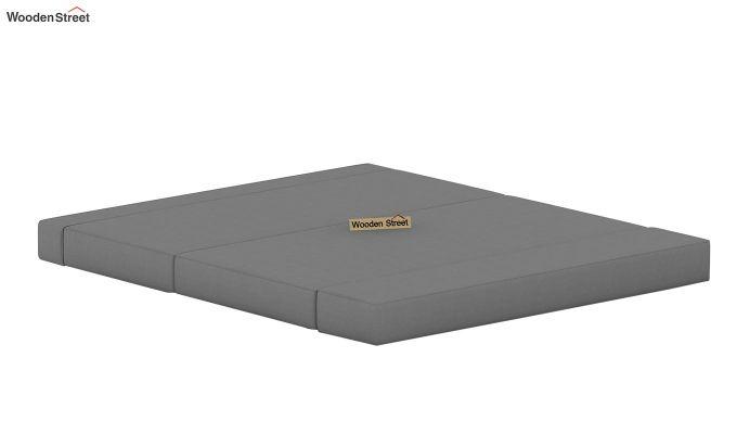 Voltz Fabric Sofa Cum Bed (Warm Grey)-5