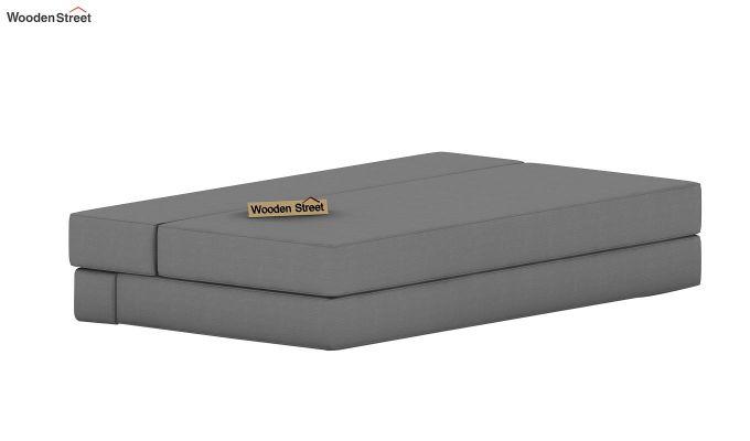 Voltz Fabric Sofa Cum Bed (Warm Grey)-6