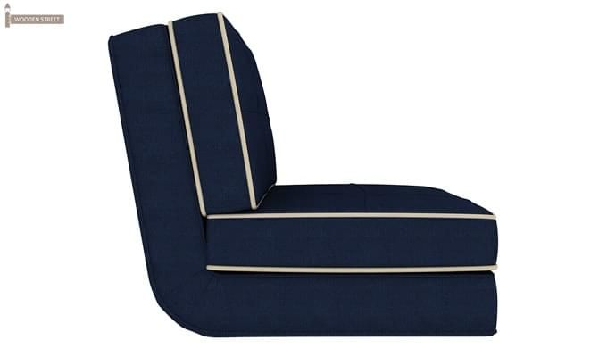 Winsley Fabric Sofa Cum Bed (Blue)-3