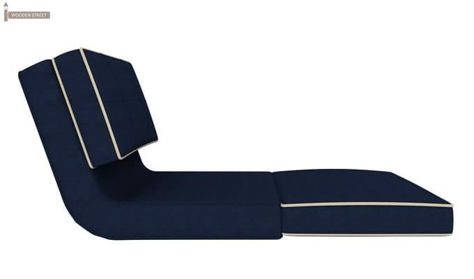 Winsley Fabric Sofa Cum Bed (Blue)-4