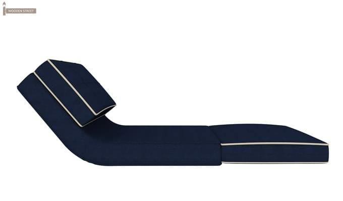 Winsley Fabric Sofa Cum Bed (Blue)-5