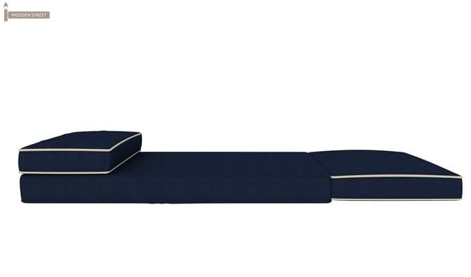 Winsley Fabric Sofa Cum Bed (Blue)-7