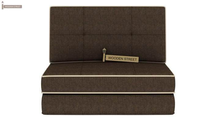 Winsley Fabric Sofa Cum Bed (Brown)-2