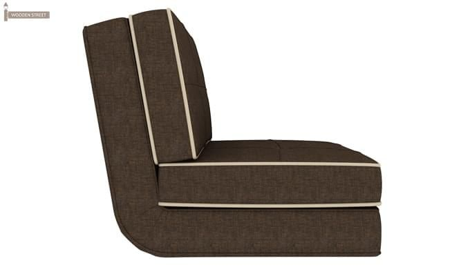 Winsley Fabric Sofa Cum Bed (Brown)-3