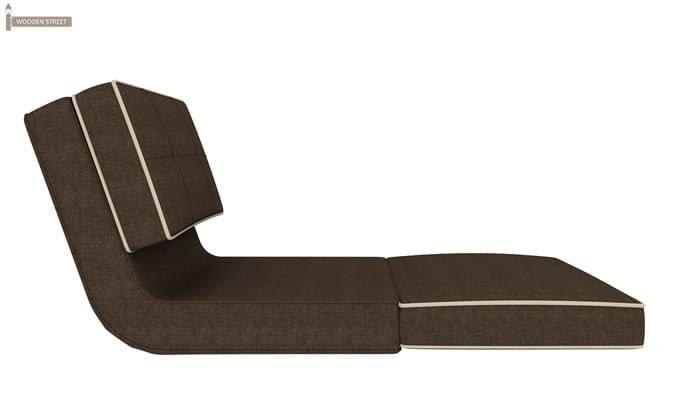 Winsley Fabric Sofa Cum Bed (Brown)-4