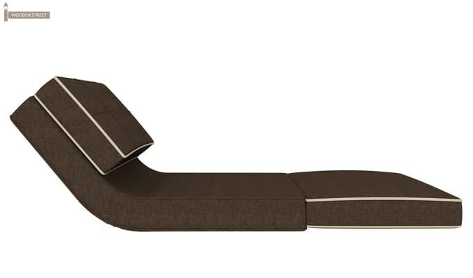 Winsley Fabric Sofa Cum Bed (Brown)-5