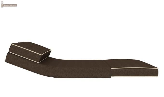 Winsley Fabric Sofa Cum Bed (Brown)-6
