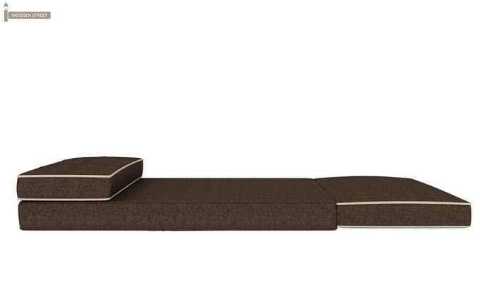 Winsley Fabric Sofa Cum Bed (Brown)-7
