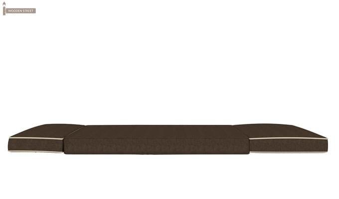 Winsley Fabric Sofa Cum Bed (Brown)-8