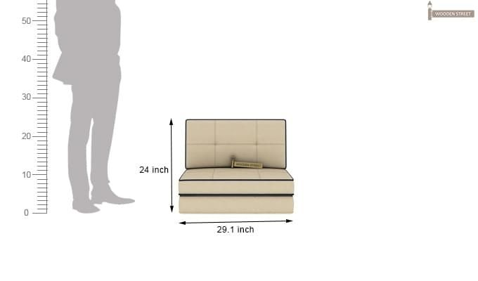 Winsley Futon Bed (Ivory)-10