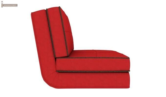Winsley Fabric Sofa Cum Bed (Dusky Rose)-5