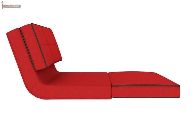 Winsley Fabric Sofa Cum Bed (Dusky Rose)-6