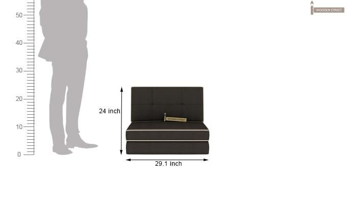 Winsley Futon Bed (Steel Grey)-9