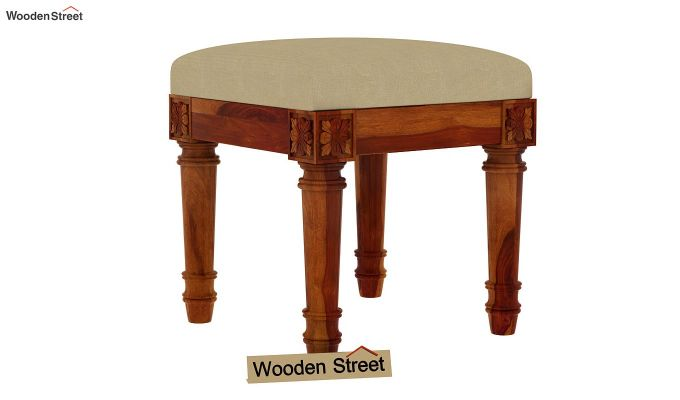 Archivist Stool (Irish Cream, Honey Finish)-1