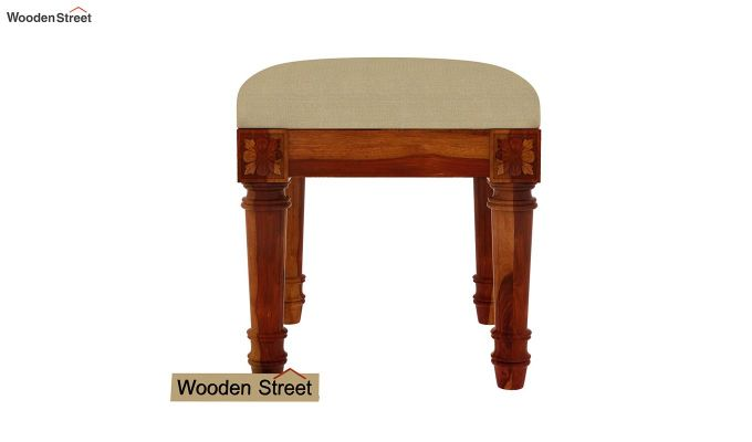 Archivist Stool (Irish Cream, Honey Finish)-2