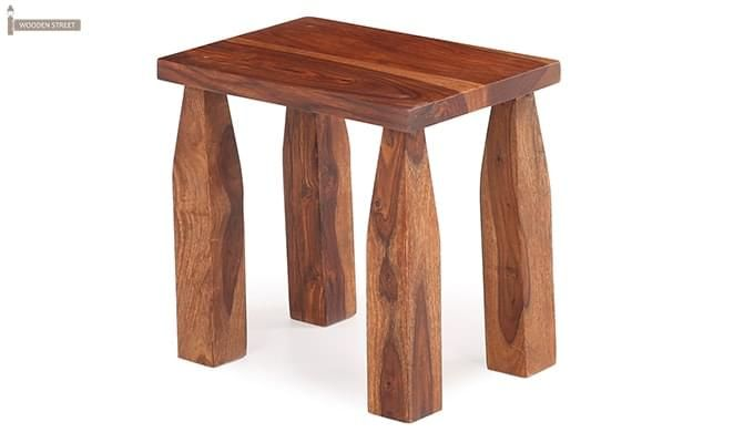 Clory Stool (Teak Finish)-2