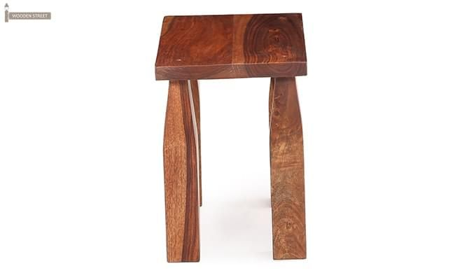 Clory Stool (Teak Finish)-4