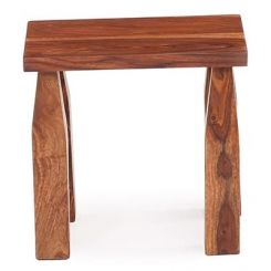 Clory Stool (Teak Finish)