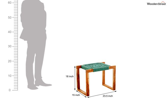 Coco Small Wooden Stool-5