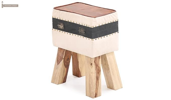 Colan Side Stool (Beige)-1