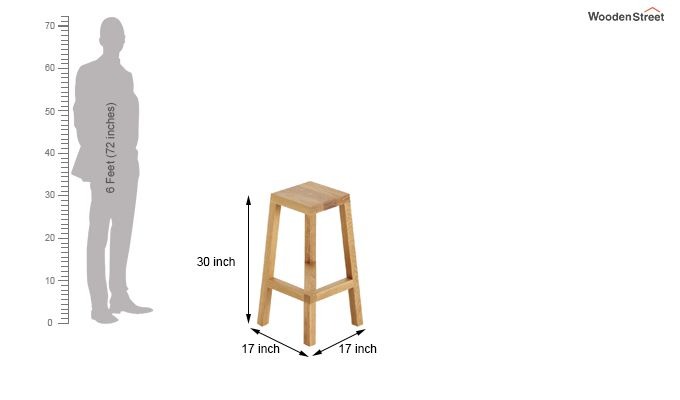 Colorado Stool (Teak)-4