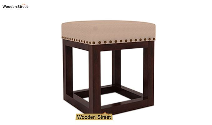 Darcy Stool (Walnut Finish, Irish Cream)-2