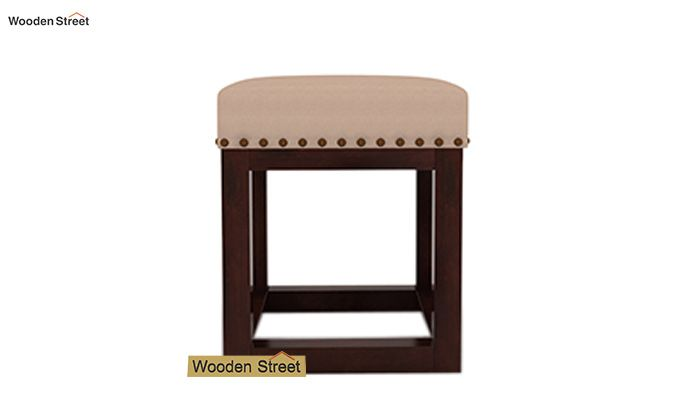 Darcy Stool (Walnut Finish, Irish Cream)-3