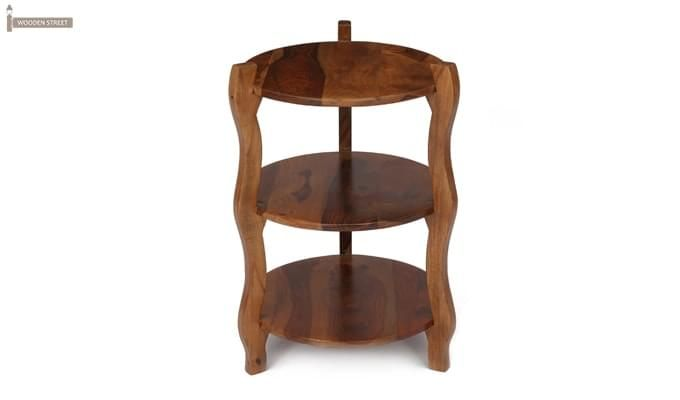Dough Stool (Teak Finish)-3