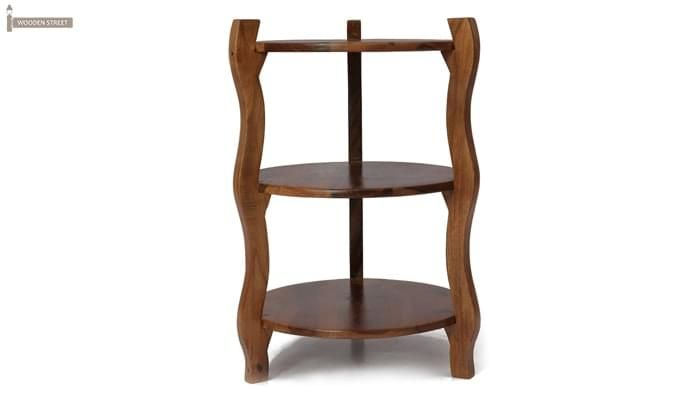 Dough Stool (Teak Finish)-4