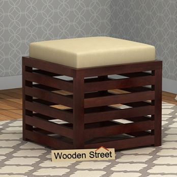 small wooden stools online india