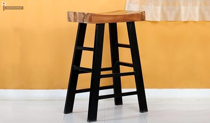 Doust Stool (Black Finish)-2