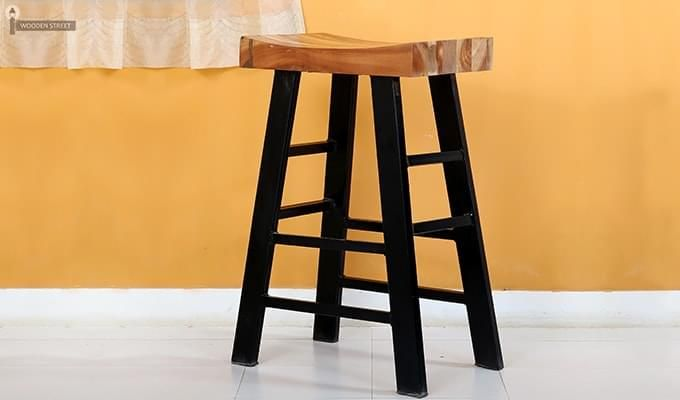 Doust Stool (Black Finish)-3