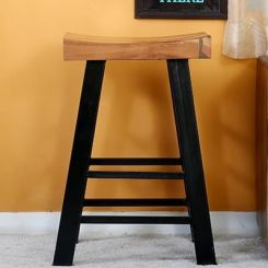 Doust Stool (Black Finish)